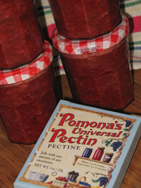 strawberry jam pomonas